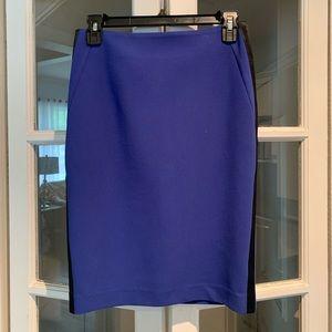 Sandro Paris blue pencil skirt. Size 1 (small)